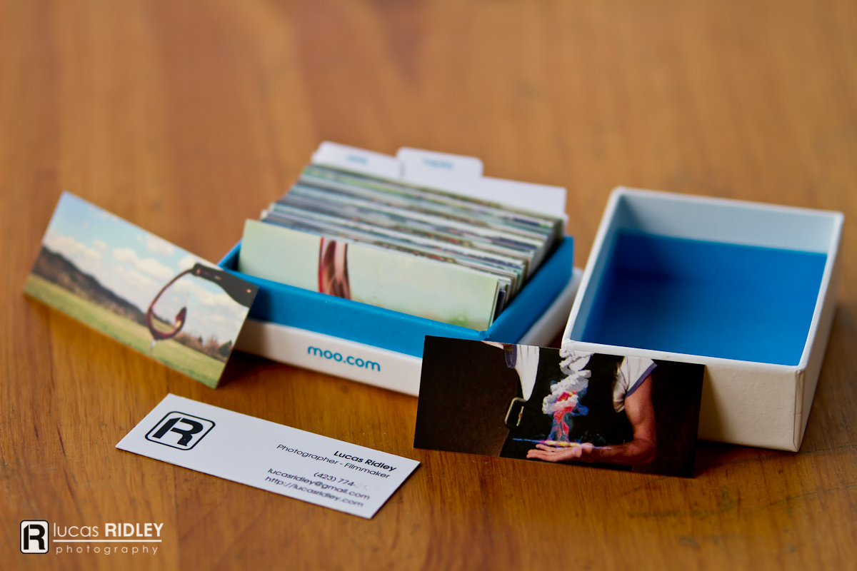 Review | Moo Mini Cards and Holder | Lucas Ridley