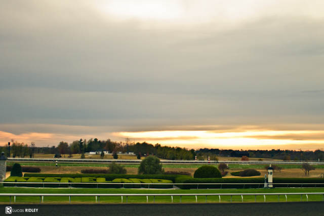 Keeneland Sunset