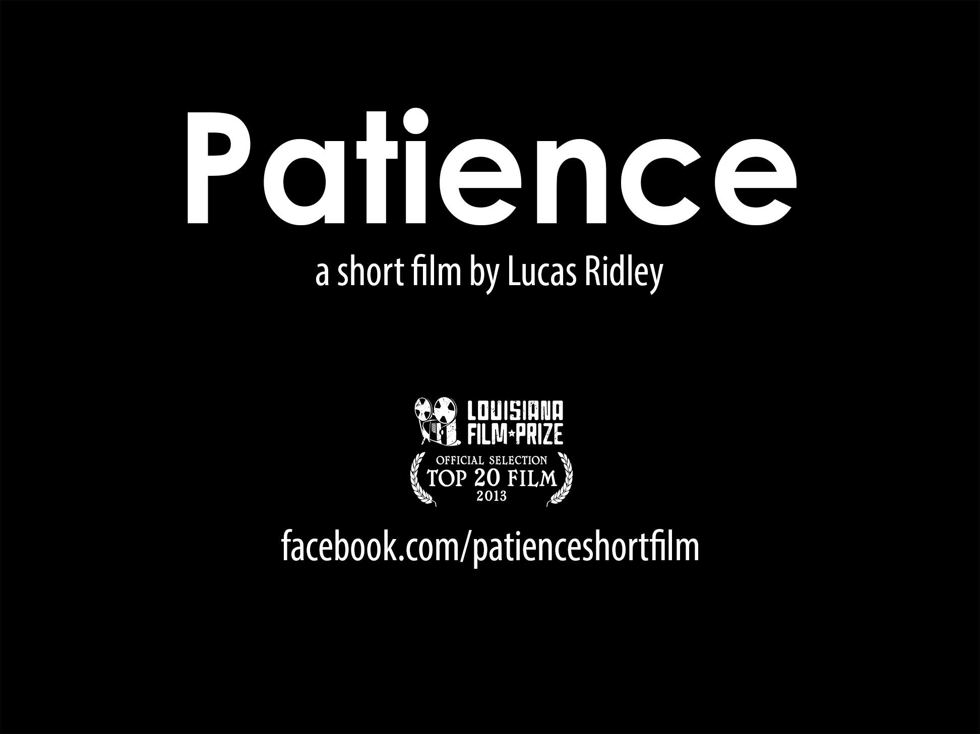 Patience short film trailer