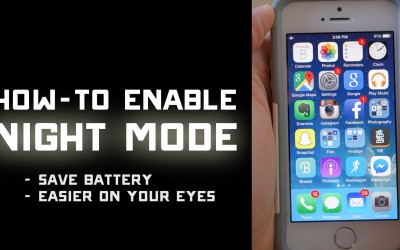 How to Turn on iPhone Night Mode