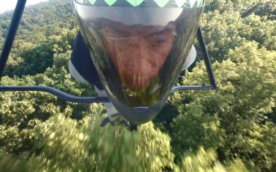 Hang Gliding on a Razor's Edge for Braun