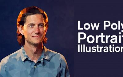 Low Poly Portrait Illustration Class
