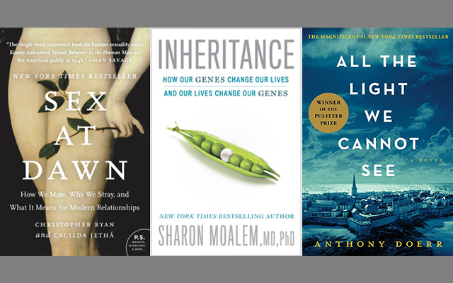 September 2015 Books – Sex, Genes, WWII