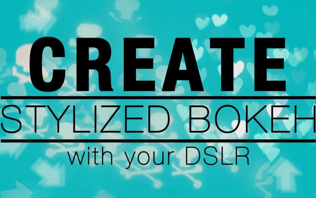 Create Stylized Bokeh – New Class!