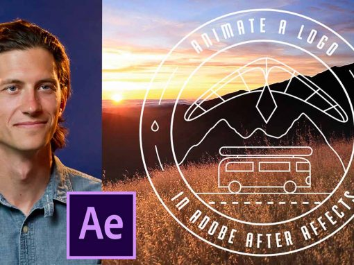 Animate a logo in adobe after effects
