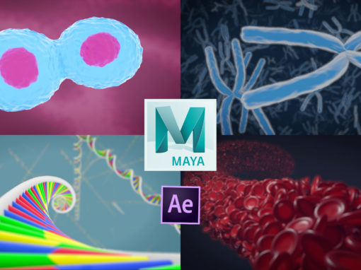 3d Medical animation in Autodesk Maya