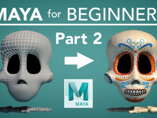 Maya for Beginners – Part 2: Look Development