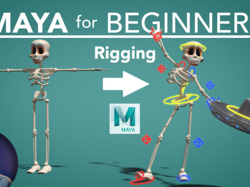 Maya for Beginners Part 3 – Rigging