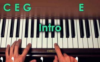 """How to   Play """"In My Life"""" on the piano"""